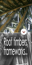 Roof timbers, frameworks, half-timbered constructions...